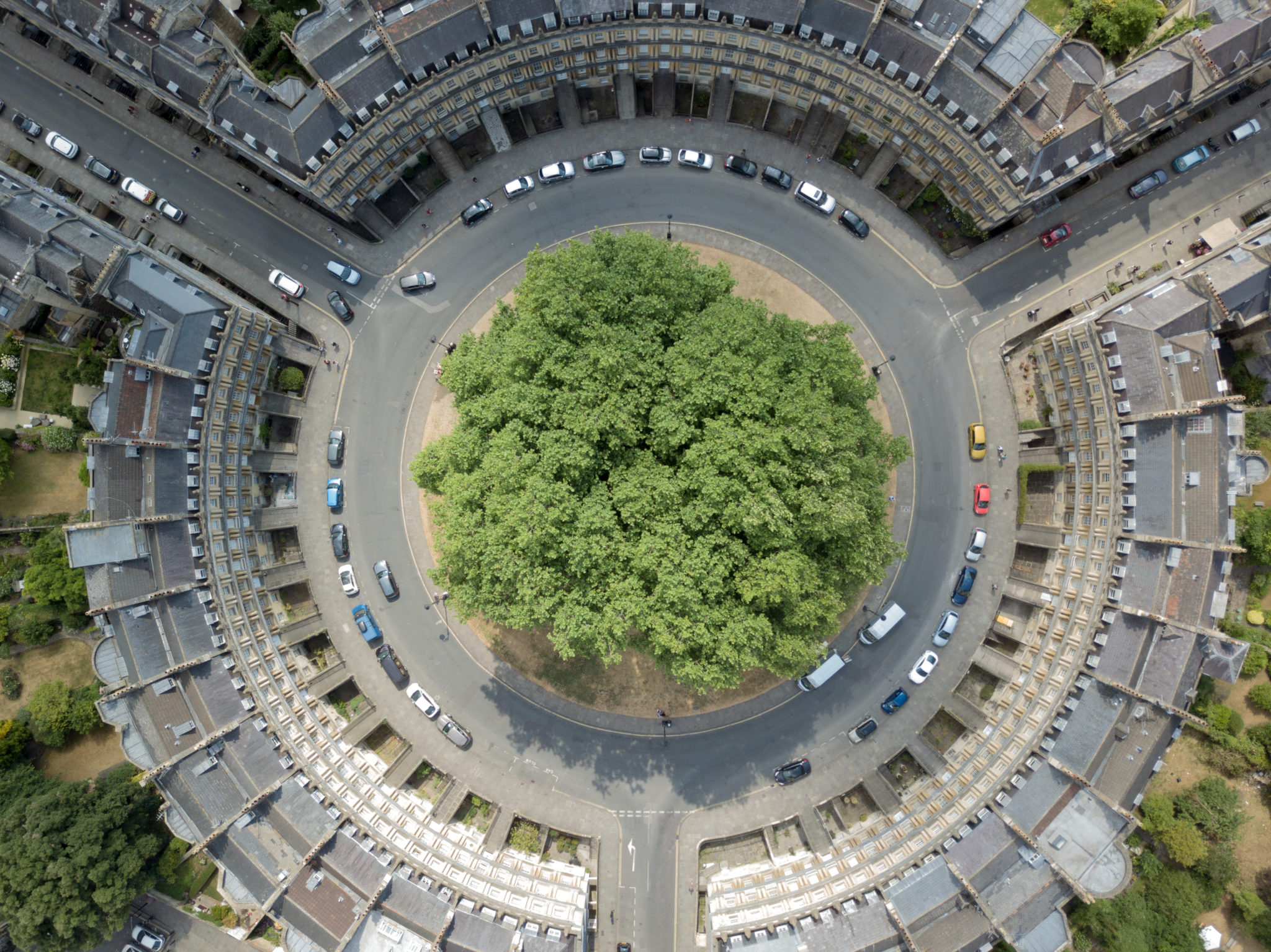 This,Photo,Of,A,Roundabout,Called,The,Circus,Was,Taken