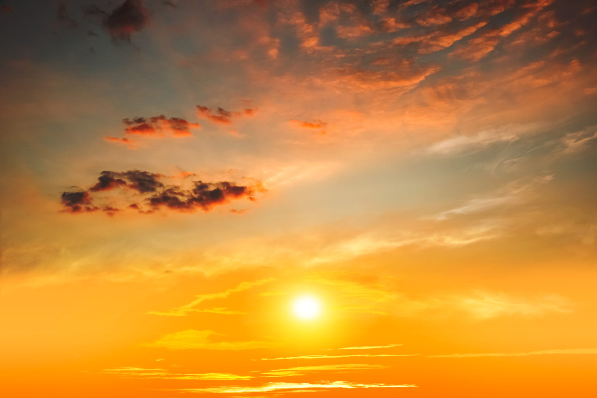 Colorful,Sky,With,Sun,In,Clouds,Of,Altitude,.,Religious