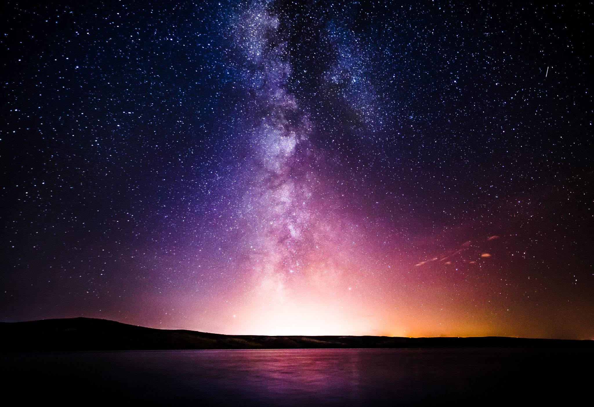 Milky,Way,Over,The,Sea